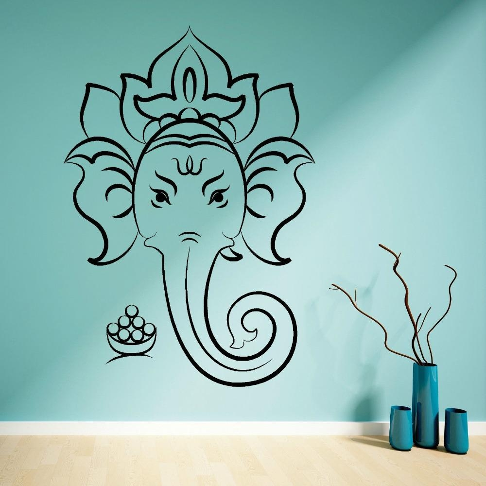 Online Buy Wholesale Hindu Wall Art From China Hindu Wall Art Within Ganesh Wall Art (View 4 of 20)