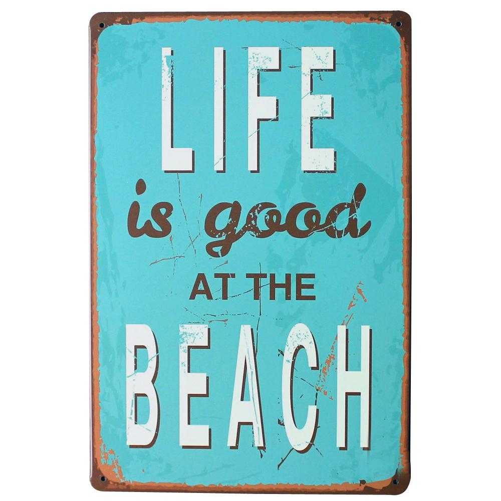 Online Buy Wholesale Life Is Good At The Beach From China Life Is In Life Is Good Wall Art (View 13 of 20)