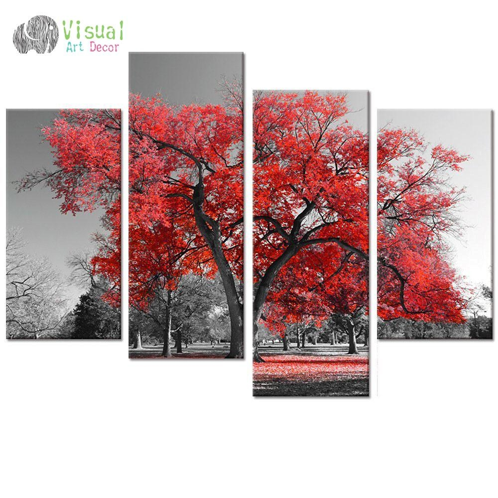 Online Buy Wholesale Multi Panel Canvas Wall Art From China Multi In Multiple Panel Wall Art (View 6 of 20)