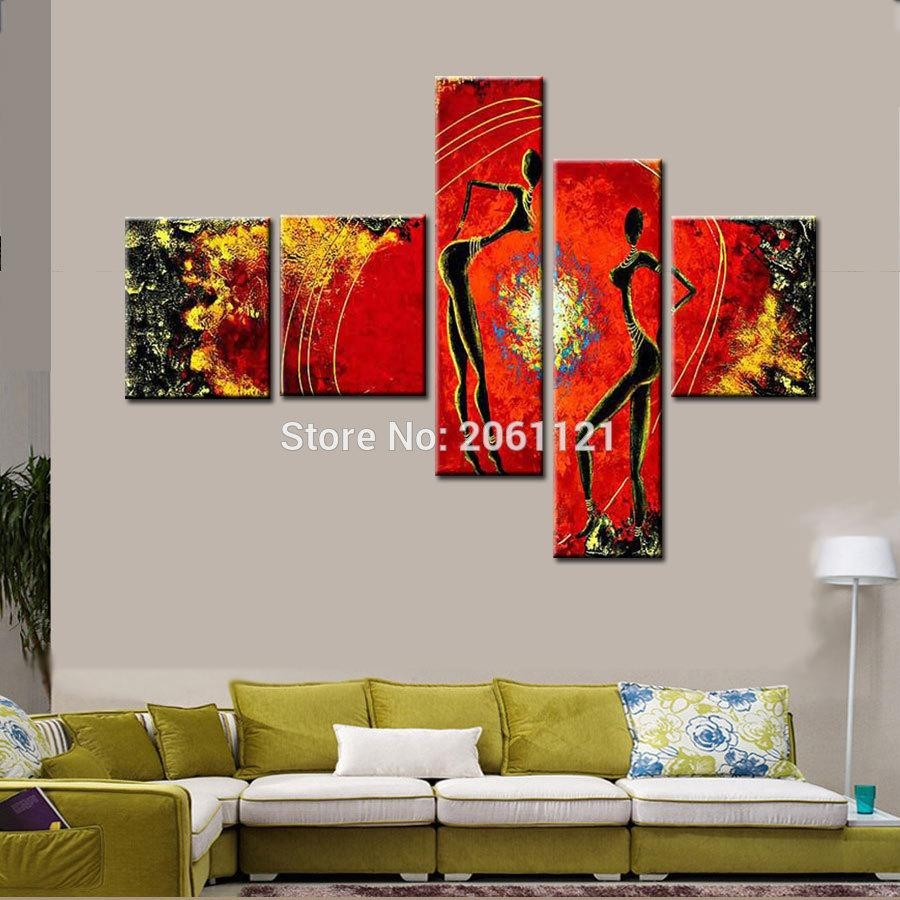 Online Buy Wholesale Multi Panel Canvas Wall Art From China Multi Inside Multiple Panel Wall Art (View 12 of 20)