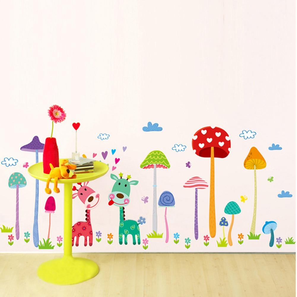Online Buy Wholesale Mushroom Wall From China Mushroom Wall Intended For Mushroom Wall Art (View 5 of 20)