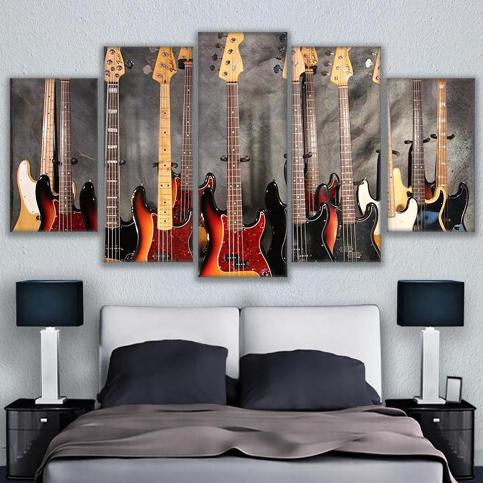Online Buy Wholesale Musical Instrument Wall Art From China Intended For Musical Instrument Wall Art (Image 5 of 20)