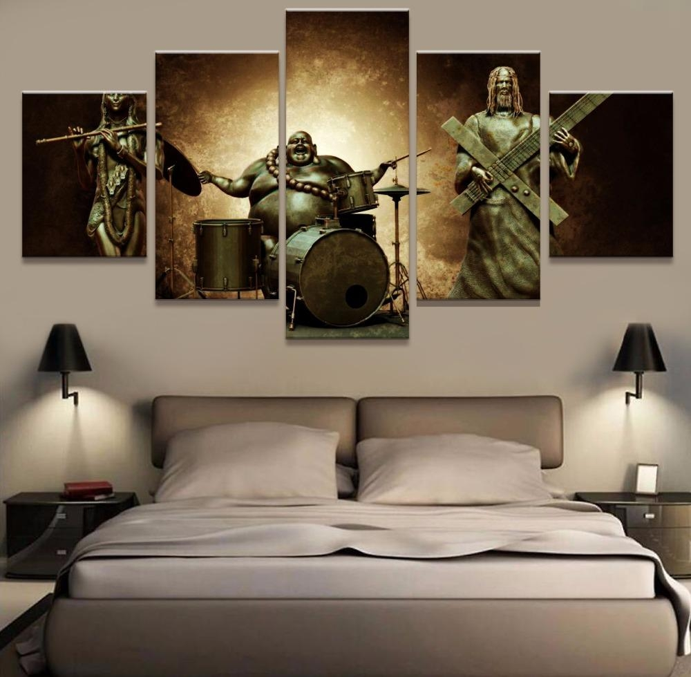 Online Buy Wholesale Musical Instruments Artwork From China Intended For Musical Instrument Wall Art (Image 6 of 20)