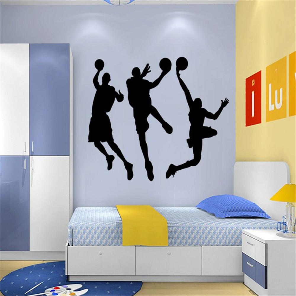 Online Buy Wholesale Nba Wall Stickers From China Nba Wall Intended For Tim Burton Wall Decals (View 8 of 20)