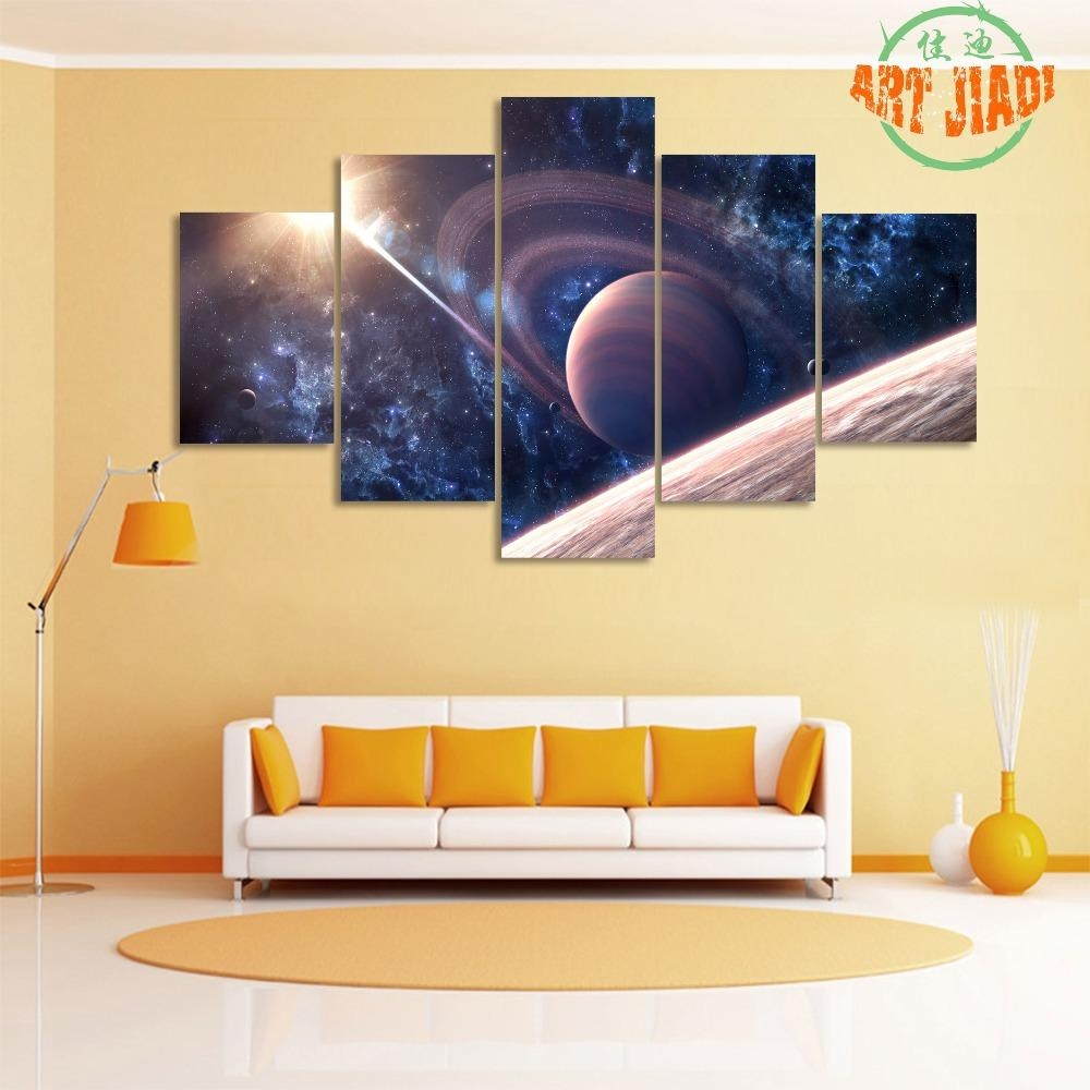 Online Buy Wholesale Outer Space Painting From China Outer Space With Regard To Outer Space Wall Art (View 17 of 20)