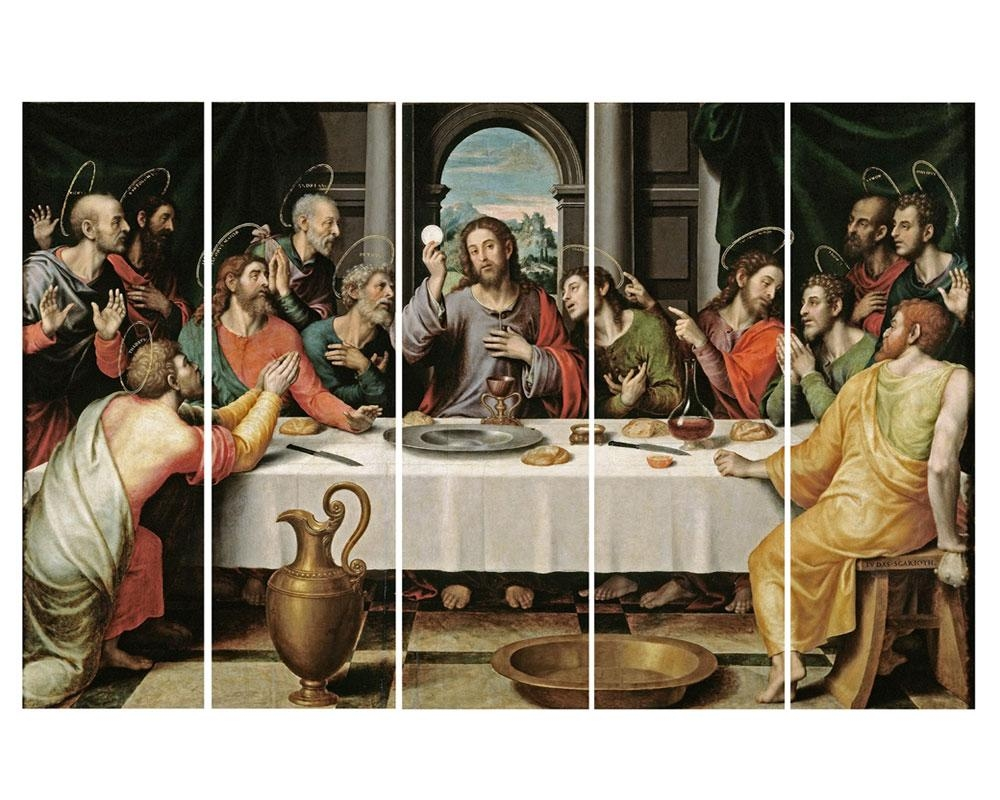 Online Buy Wholesale Paintings Last Supper From China Paintings In Last Supper Wall Art (View 18 of 20)