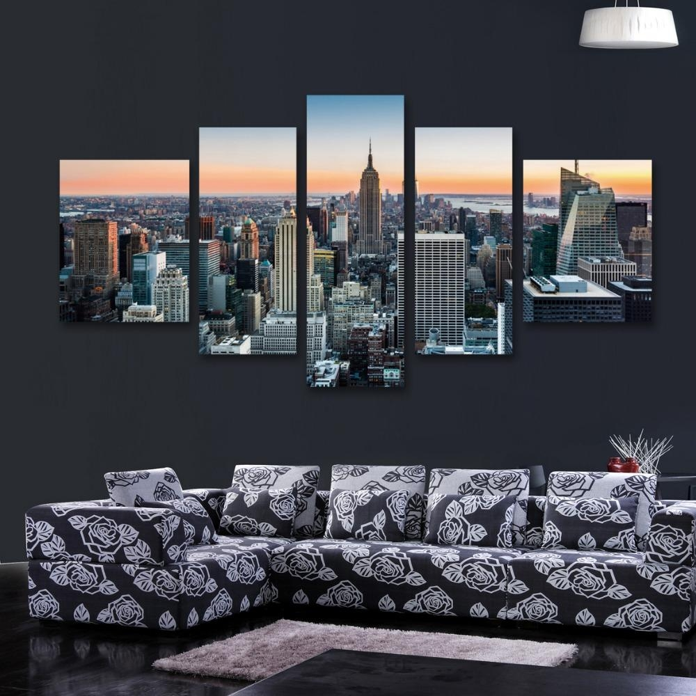 20 best collection of new york city canvas wall art wall for Best place to order canvas prints online