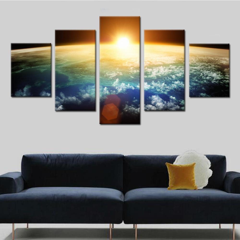 Online Buy Wholesale Picture Outer Space From China Picture Outer Regarding Outer Space Wall Art (View 13 of 20)