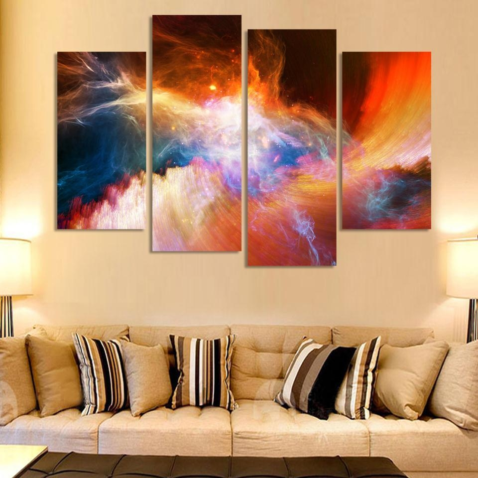 Online Buy Wholesale Purple Canvas Art From China Purple Canvas Intended For Cheap Wall Canvas Art (View 10 of 20)