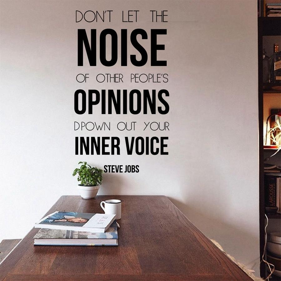Online Buy Wholesale Quote Steve Jobs From China Quote Steve Jobs Pertaining To Tim Burton Wall Decals (View 18 of 20)