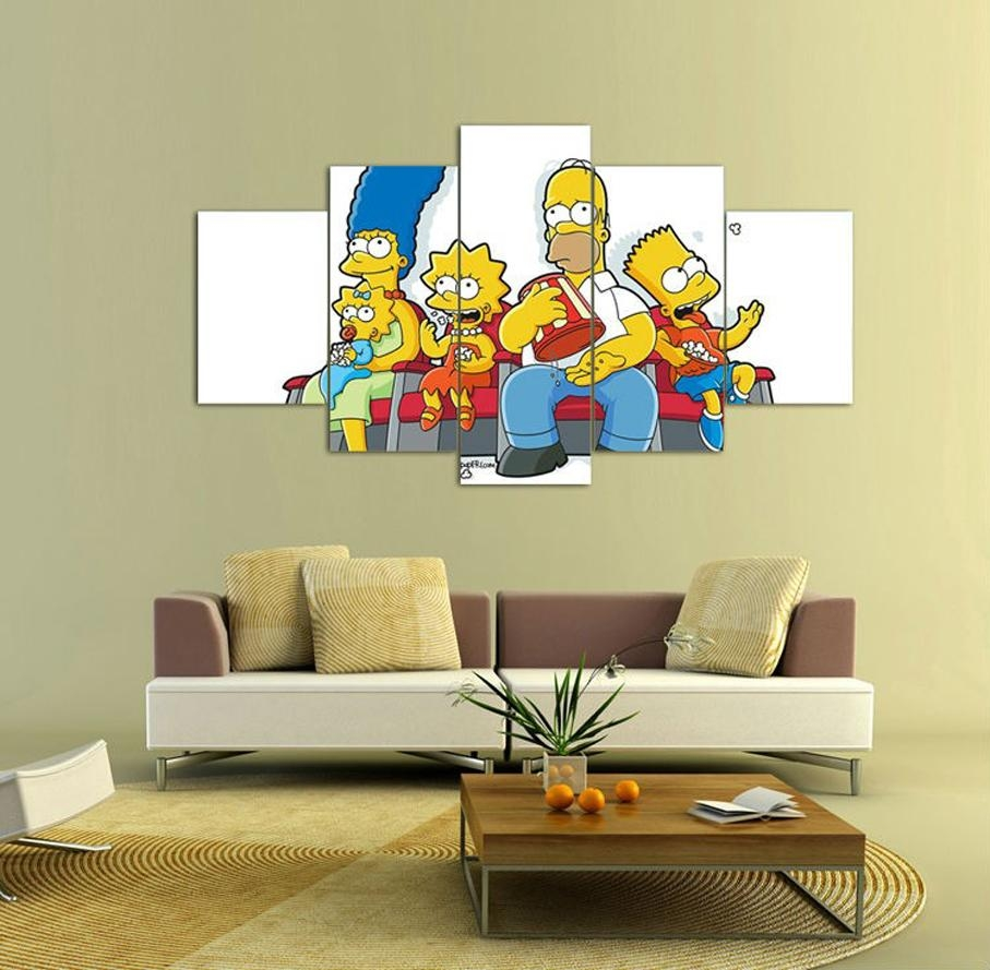 Online Buy Wholesale Simpson Art From China Simpson Art Within Tim Burton Wall Decals (Image 14 of 20)