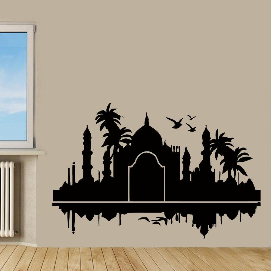 Online Buy Wholesale Taj Mahal Decoration From China Taj Mahal Pertaining To Taj Mahal Wall Art (View 10 of 20)