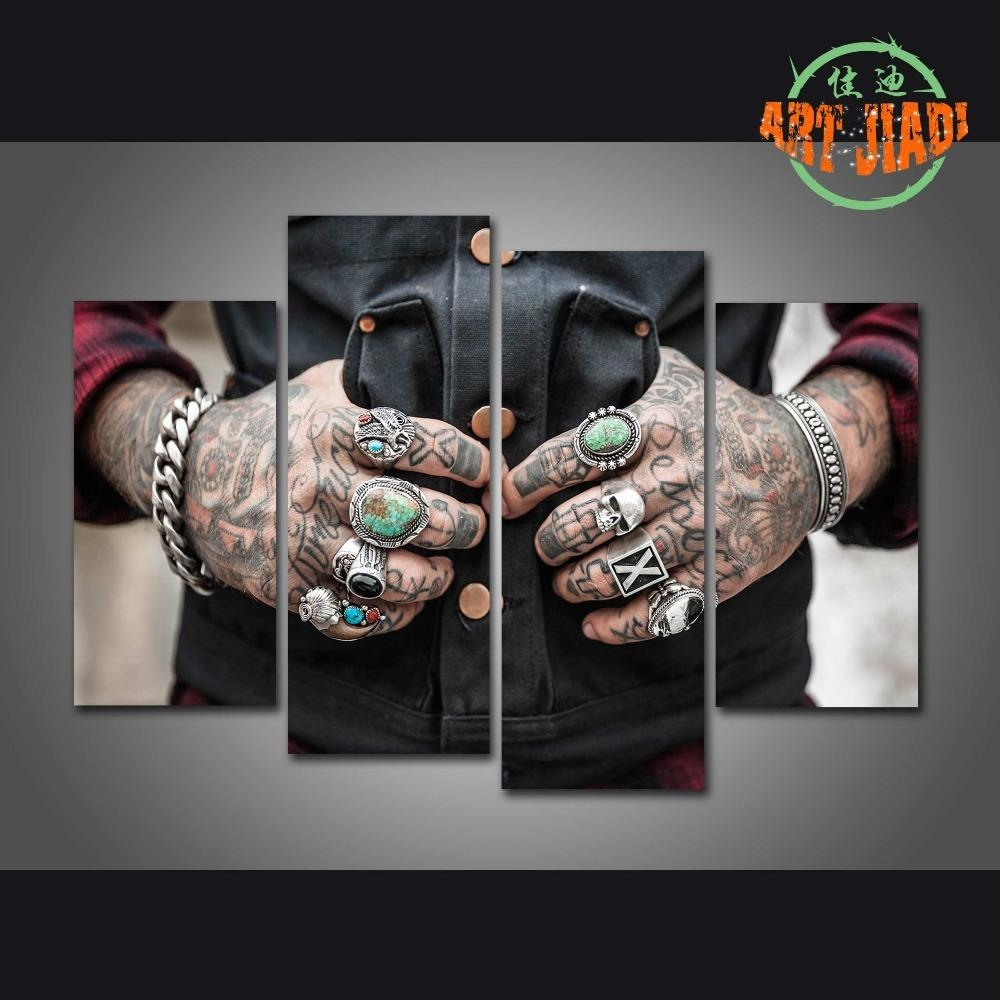 Online Buy Wholesale Tattoo Art Prints From China Tattoo Art Intended For Tattoos Wall Art (Image 8 of 20)