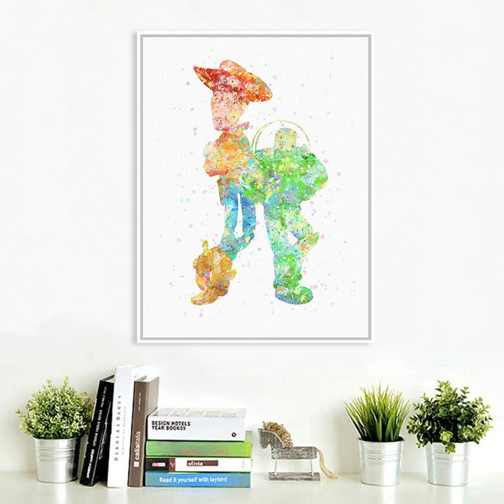 Online Buy Wholesale Toy Story Wall Art From China Toy Story Wall In Toy Story Wall Art (Image 10 of 20)