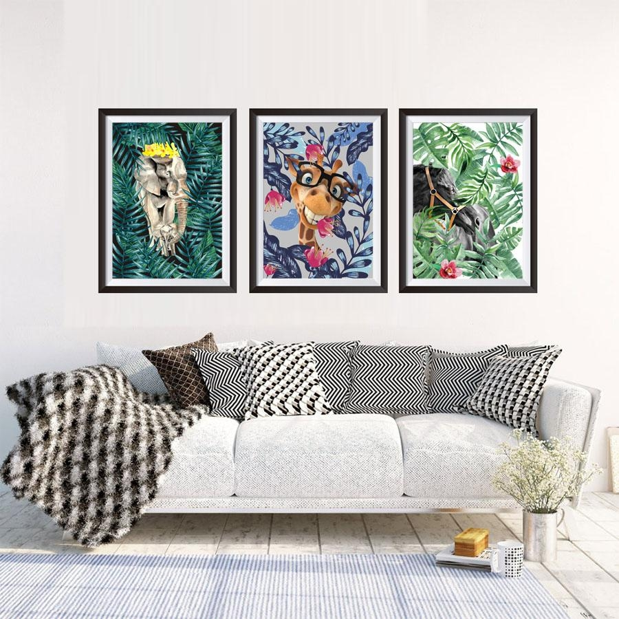Online Buy Wholesale Wall Art Jungle Canvas From China Wall Art With Jungle Canvas Wall Art (View 6 of 20)