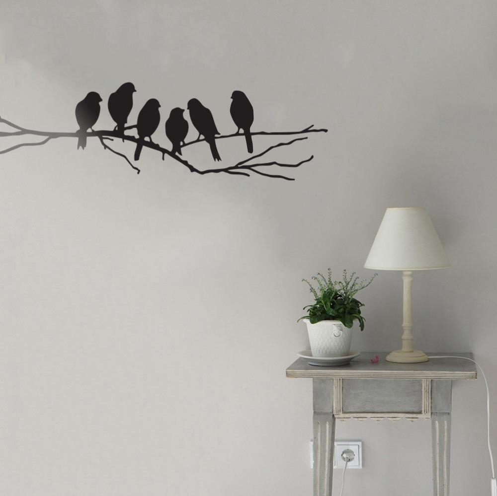 Online Buy Wholesale Wall Art Tree Branches From China Wall Art Within Tree Branch Wall Art (Image 10 of 20)