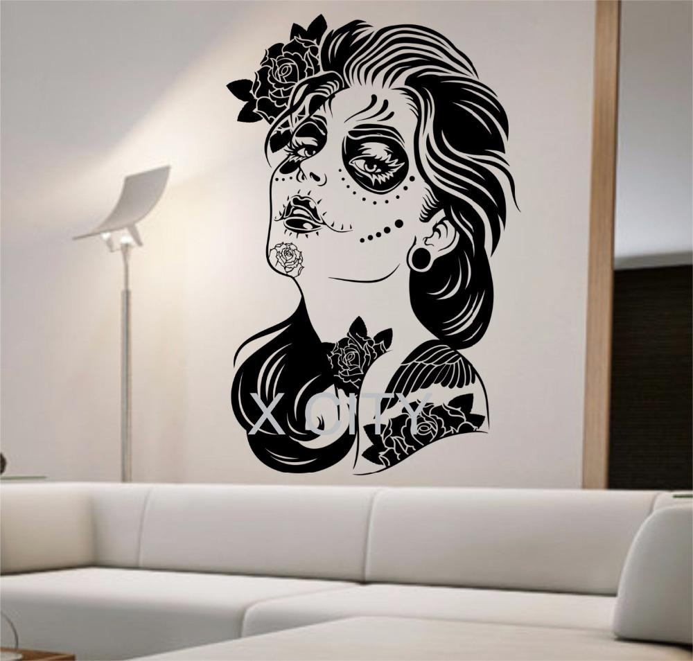 Online Buy Wholesale Wall Tattoo Art From China Wall Tattoo Art Throughout Tattoos Wall Art (Image 9 of 20)