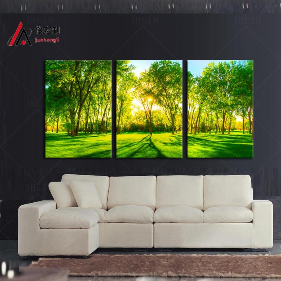 Online Get Cheap 3 Piece Photo Wall Art  Aliexpress | Alibaba Pertaining To Large Triptych Wall Art (Image 9 of 20)