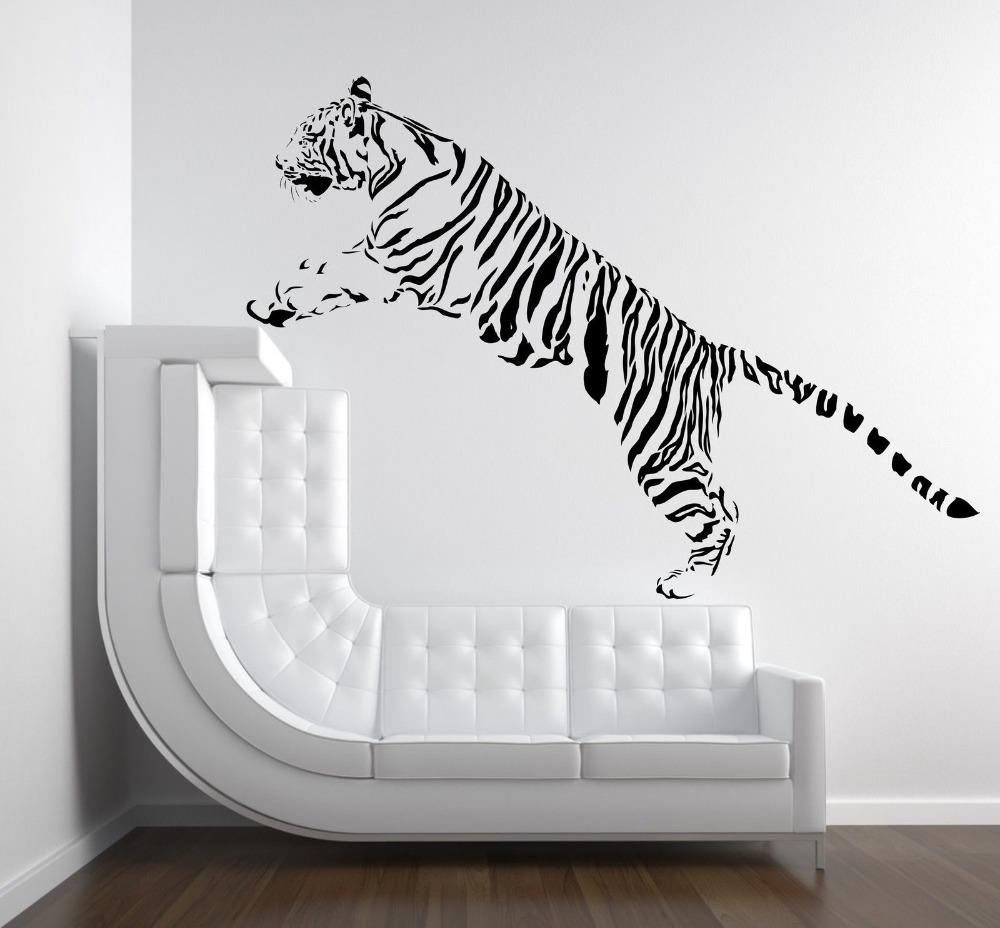 Online Get Cheap 3D Wall Decoration Wall Art With Tiger Pertaining To Animal Wall Art (Image 15 of 20)