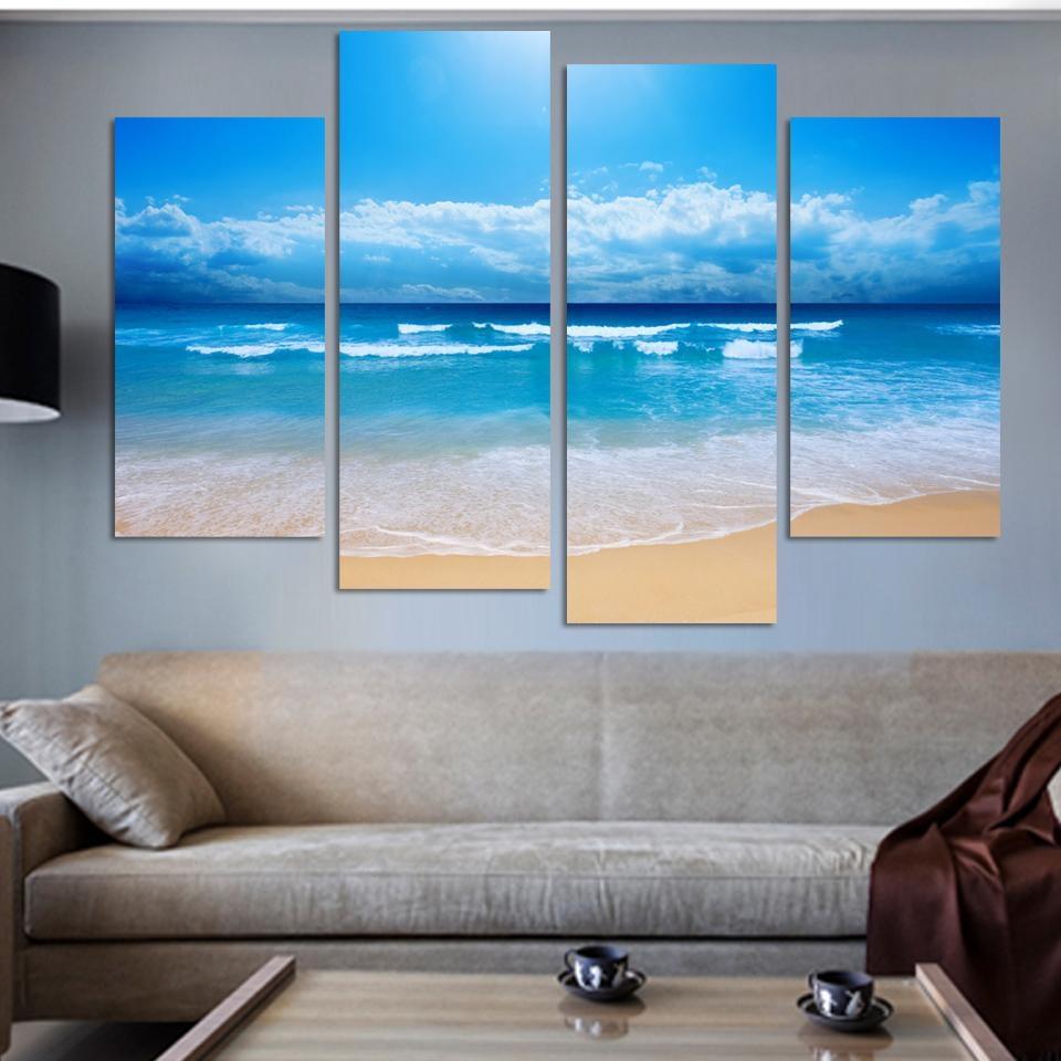 Online Get Cheap 4 Piece Canvas Art Set  Aliexpress | Alibaba Inside 4 Piece Canvas Art Sets (Photo 10 of 20)