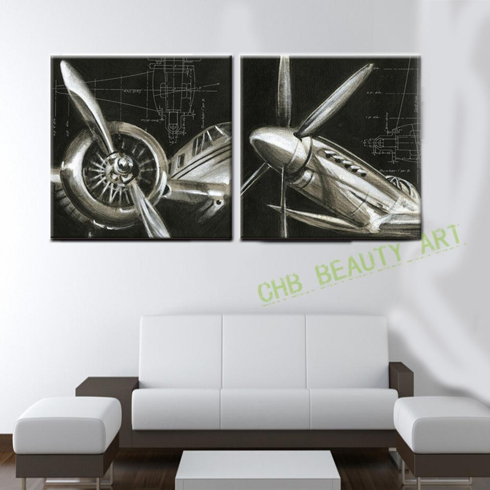 Online Get Cheap Abstract Airplane Art Aliexpress | Alibaba Group Inside Cheap Abstract Wall Art (View 8 of 20)