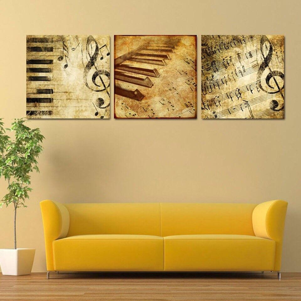 Online Get Cheap Abstract Piano Art Aliexpress | Alibaba Group Intended For Cheap Abstract Wall Art (View 13 of 20)