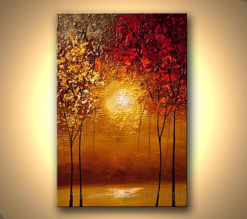 Online Get Cheap Abstract Sunset Art Aliexpress | Alibaba Group Within Cheap Abstract Wall Art (View 17 of 20)