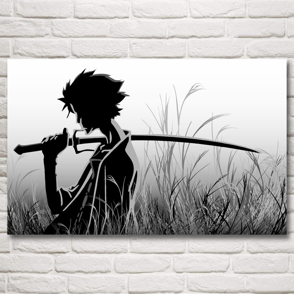 Online Get Cheap Anime Poster Samurai Aliexpress | Alibaba Group Throughout Samurai Wall Art (View 11 of 20)