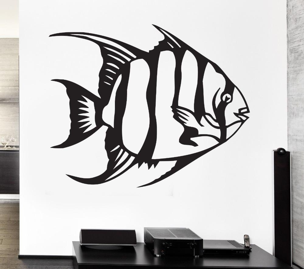 Online Get Cheap Aquarium Wall Decals  Aliexpress | Alibaba Group Pertaining To Computer Wall Art (Image 16 of 20)