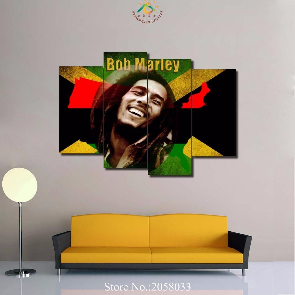 Online Get Cheap Art Bob Marley  Aliexpress | Alibaba Group With Regard To Bob Marley Canvas Wall Art (Image 16 of 20)