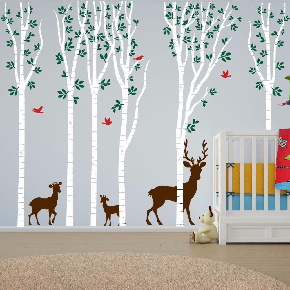 Online Get Cheap Aspen Wall  Aliexpress | Alibaba Group Inside Aspen Tree Wall Art (Image 11 of 20)