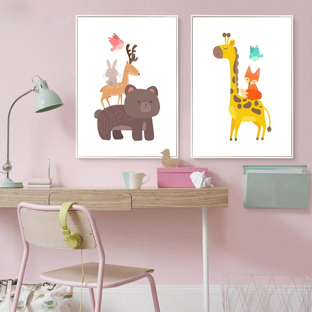 Online Get Cheap Baby Nursery Canvas  Aliexpress | Alibaba Group For Nursery Canvas Art (Image 14 of 20)