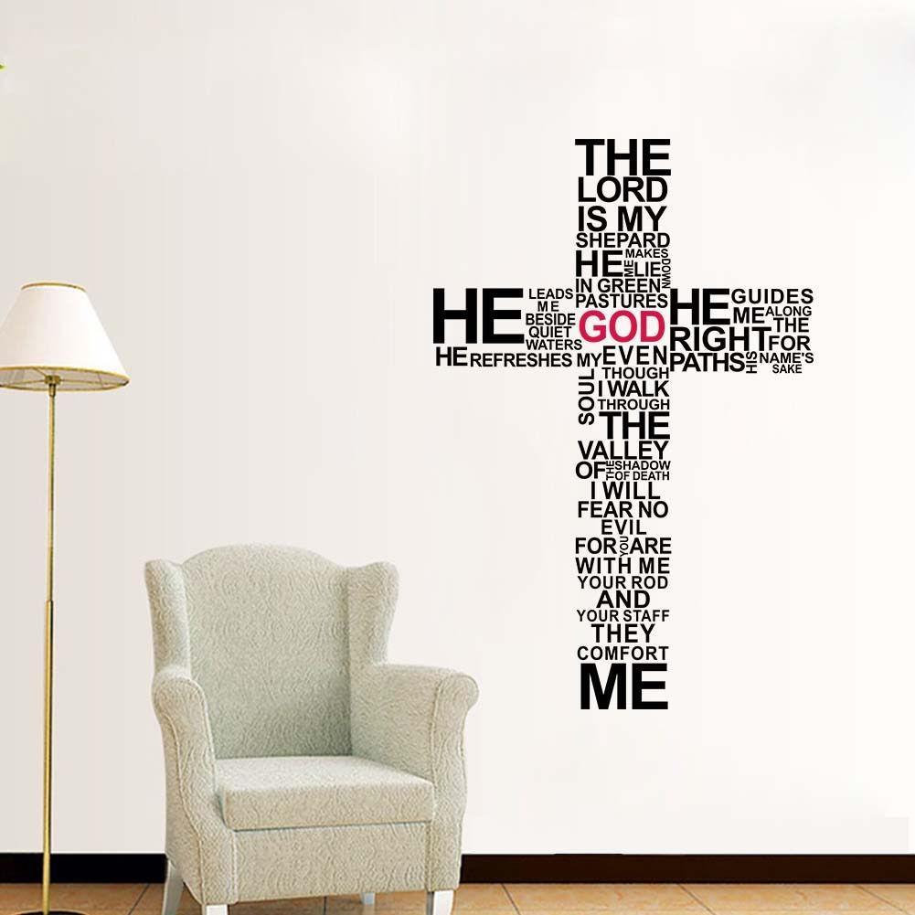 Online Get Cheap Bible Verse Wall  Aliexpress | Alibaba Group Pertaining To Bible Verses Wall Art (Image 13 of 20)