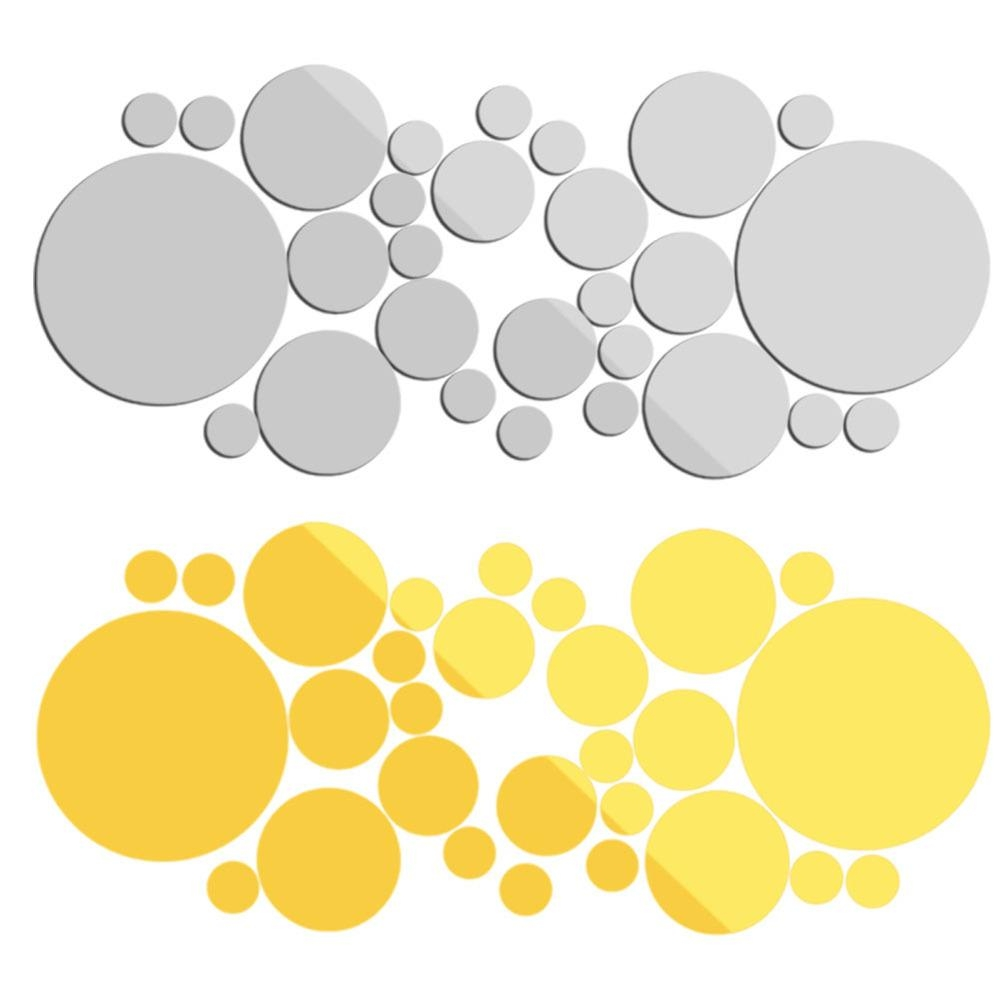 Online Get Cheap Big Circle Mirror Aliexpress | Alibaba Group Throughout Mirror Circles Wall Art (View 14 of 20)