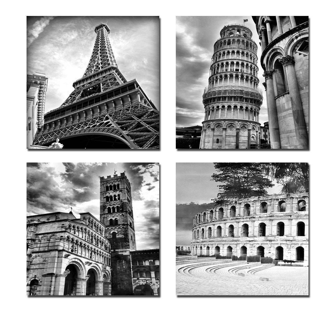 Online Get Cheap Black And White Canvas Wall Art  Aliexpress Pertaining To Cheap Black And White Wall Art (Image 9 of 20)