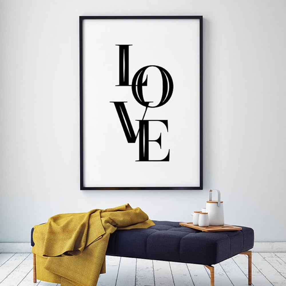 Online Get Cheap Black Love Art Aliexpress | Alibaba Group With Regard To Black Love Wall Art (View 5 of 20)