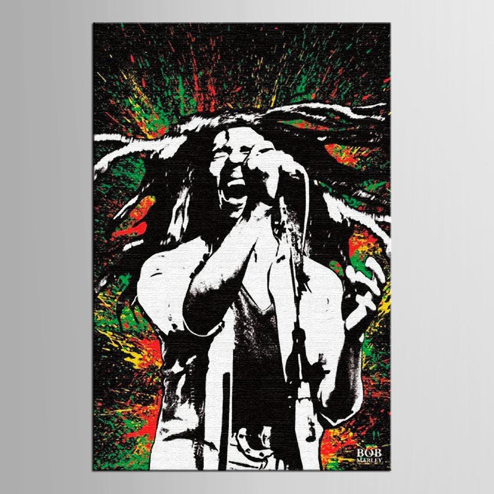 Online Get Cheap Bob Marley Canvas  Aliexpress | Alibaba Group Throughout Bob Marley Canvas Wall Art (Image 18 of 20)