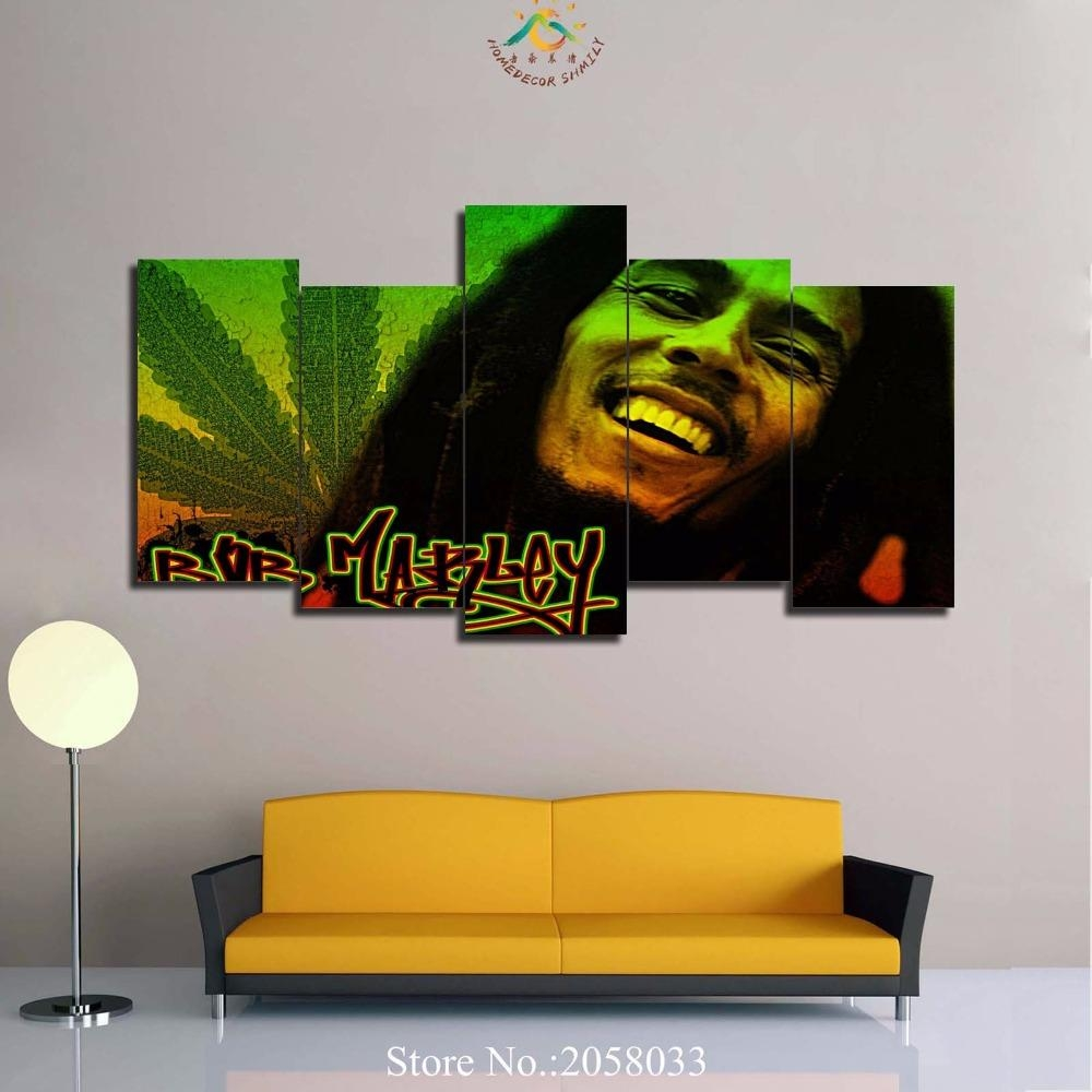 Online Get Cheap Bob Marley Pictures Aliexpress | Alibaba Group Inside Bob Marley Wall Art (View 4 of 20)