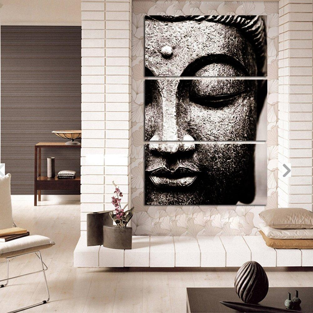 Online Get Cheap Buddha Wall Art  Aliexpress | Alibaba Group Pertaining To Silver Buddha Wall Art (Image 12 of 20)