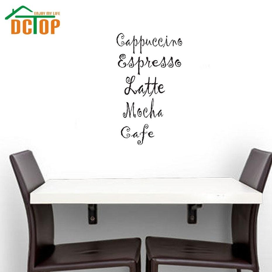 Online Get Cheap Cafe Latte Kitchen Decor  Aliexpress With Cafe Latte Kitchen Wall Art (Image 18 of 20)