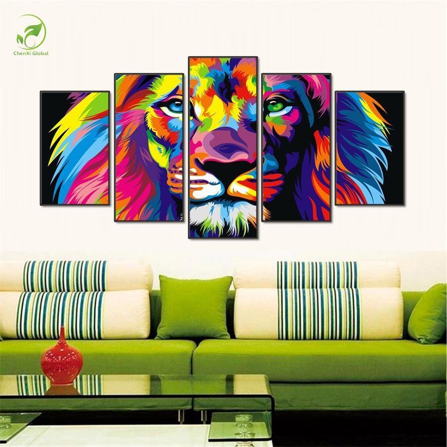 Online Get Cheap Canvas Board Wall Art Aliexpress | Alibaba Group Inside Animal Canvas Wall Art (View 6 of 20)