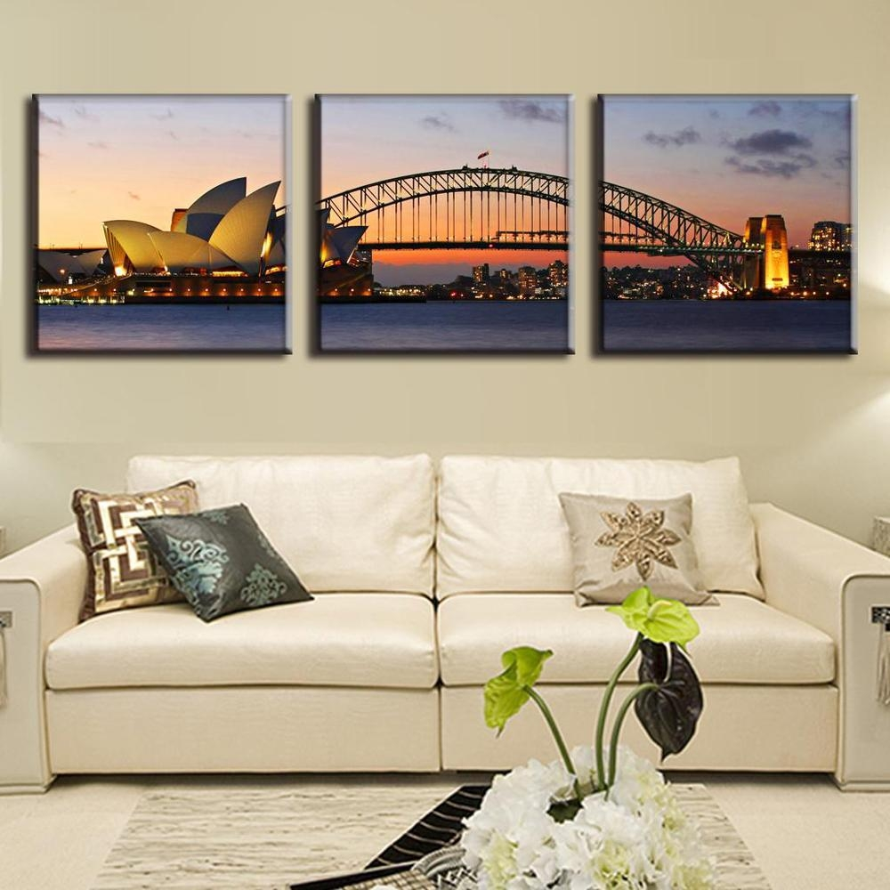 Online Get Cheap Canvas Paintings Sydney  Aliexpress | Alibaba Within Cheap Wall Art Canvas Sets (Image 9 of 20)