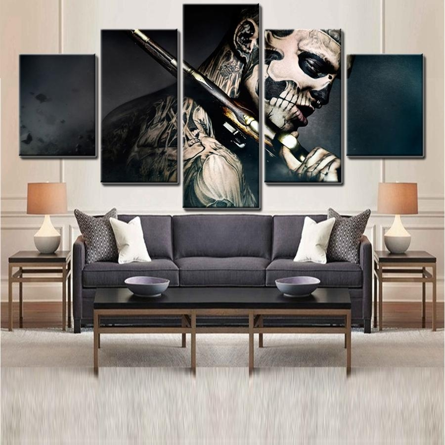 Online Get Cheap Cool Wall Art For Guys Aliexpress | Alibaba With Regard To Cool Modern Wall Art (View 20 of 20)
