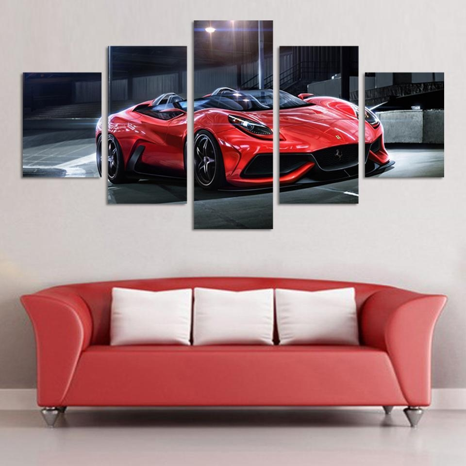 Online Get Cheap Cool Wall Paintings Aliexpress | Alibaba Group Pertaining To Cool Modern Wall Art (View 15 of 20)