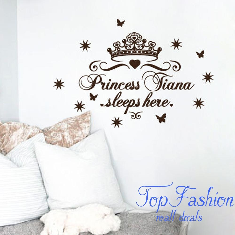 Online Get Cheap Crown Wall Decals  Aliexpress | Alibaba Group Within Princess Crown Wall Art (Image 13 of 20)