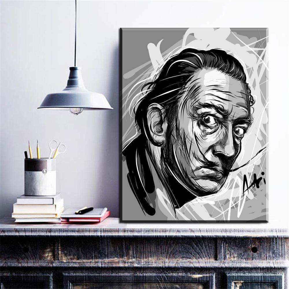 Online Get Cheap Dali Wall Art  Aliexpress | Alibaba Group For Salvador Dali Wall Art (Image 8 of 20)
