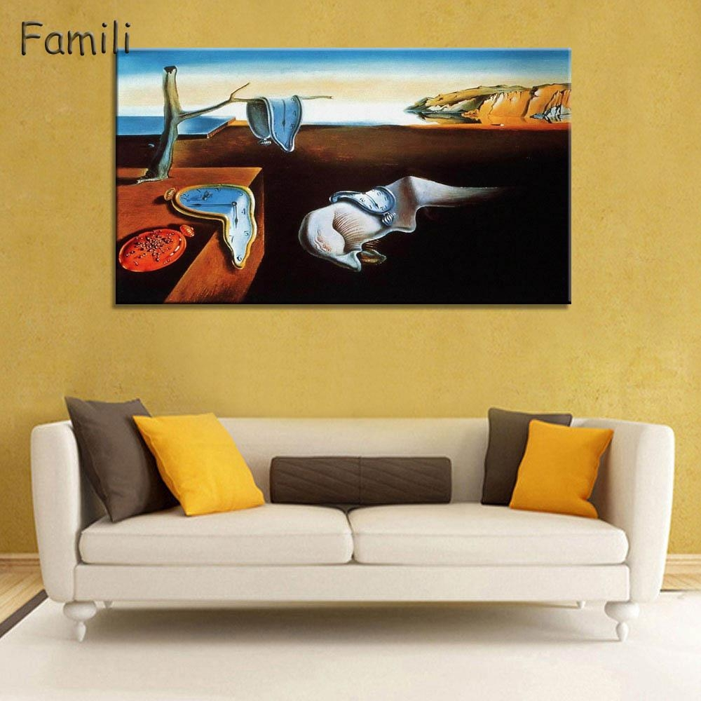 Online Get Cheap Dali Wall Art  Aliexpress | Alibaba Group Intended For Salvador Dali Wall Art (Image 9 of 20)