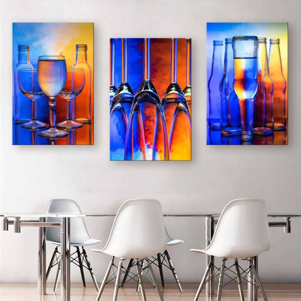Online Get Cheap Decorative Glass Painting Aliexpress With Regard To Modern Glass Wall Art (View 14 of 20)