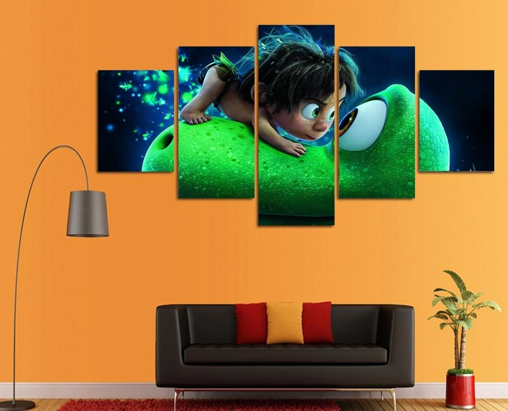 Online Get Cheap Dinosaur Canvas Art  Aliexpress | Alibaba Group Regarding Dinosaur Canvas Wall Art (Image 14 of 20)