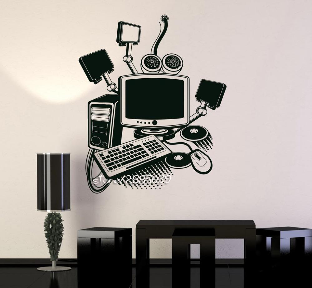 Online Get Cheap Diy Computer Room Aliexpress | Alibaba Group Inside Computer Wall Art (View 6 of 20)